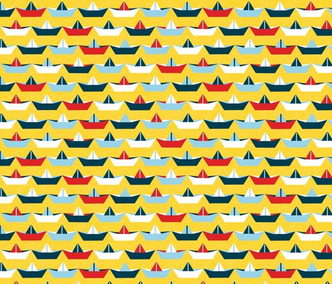 Sailing_paper_boat_jaune_l_shop_preview
