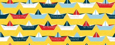 sailing_paper_boat_jaune_M