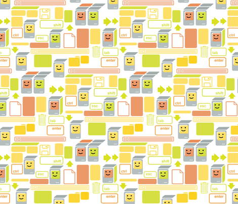 Mac SEs fabric by chris_jorge on Spoonflower - custom fabric