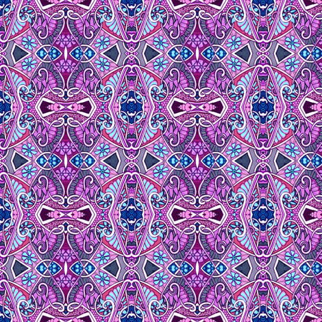Purple Puzzle fabric by edsel2084 on Spoonflower - custom fabric