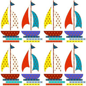 More colors Baby Sailboat