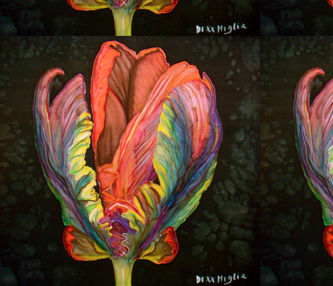 Tulip 6 fabric by gabrielladixxmiglia on Spoonflower - custom fabric