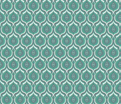 peacock fabric by myracle on Spoonflower - custom fabric