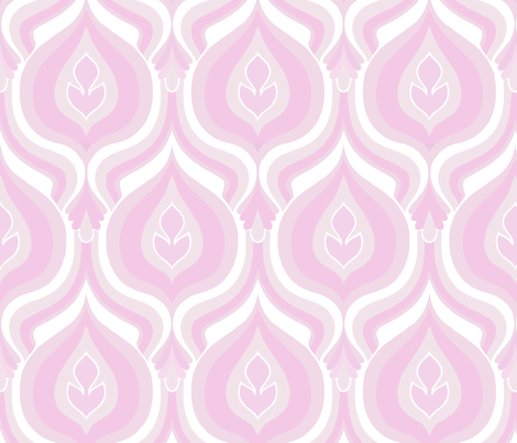 flames lilac fabric by myracle on Spoonflower - custom fabric