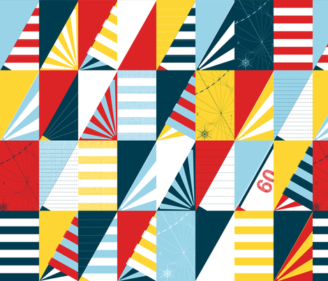 Coast fabric by spellstone on Spoonflower - custom fabric