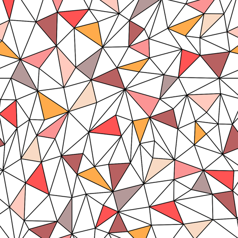 Geometric Structure fabric by kimsa on Spoonflower - custom fabric