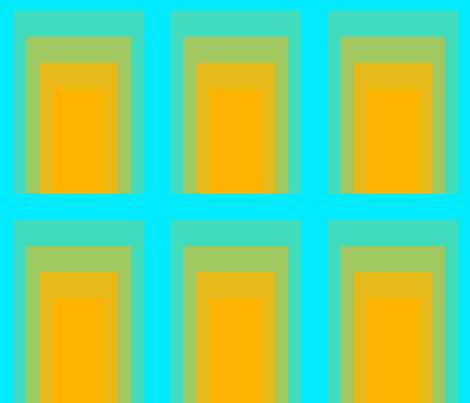 rectangles_turquoise fabric by mammajamma on Spoonflower - custom fabric