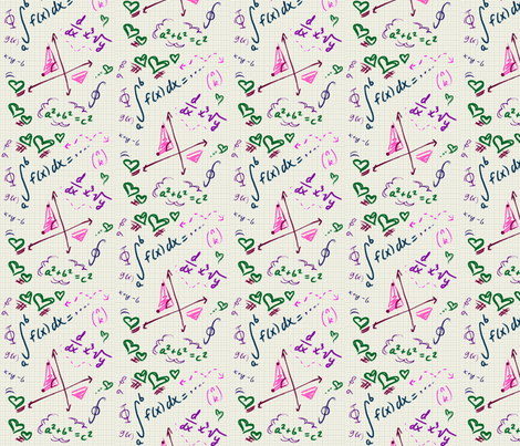 mathy fabric by nicolej on Spoonflower - custom fabric