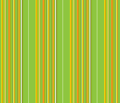 Garden Stripes fabric by ruthevelyn on Spoonflower - custom fabric