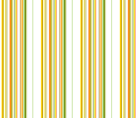 Garden Stripes Light fabric by ruthevelyn on Spoonflower - custom fabric