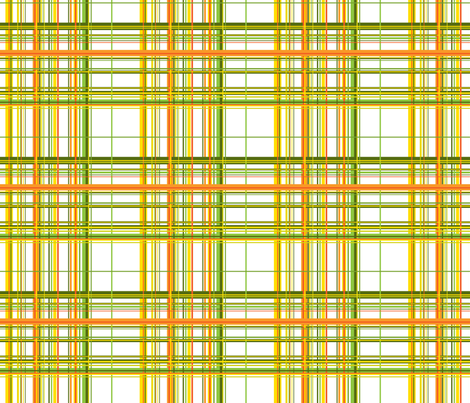 Garden Plaid Light fabric by ruthevelyn on Spoonflower - custom fabric