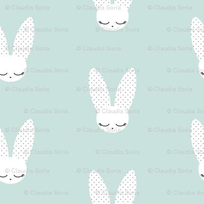 Bunnies - Mint (small)