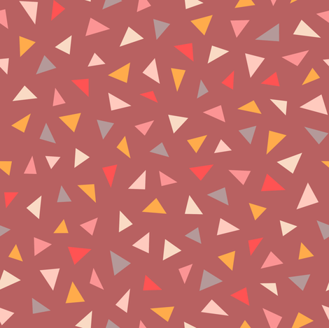 Triangle Confetti fabric by kimsa on Spoonflower - custom fabric