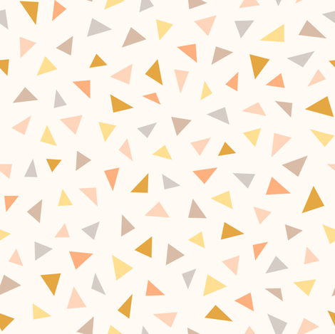 Triangle Confetti Spring fabric by kimsa on Spoonflower - custom fabric