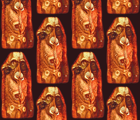 HYC Tiki fabric by waiomaotiki on Spoonflower - custom fabric