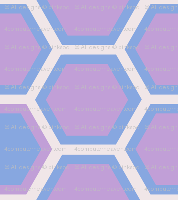 Hexagon Halfsies! - Desert Night - Desert Night Hex - © PinkSodaPop 4ComputerHeaven.com