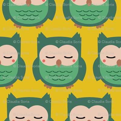 Green Owlies