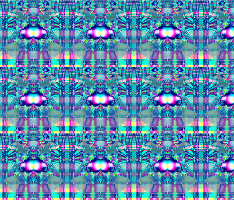 Fractal: Plaid on Parade fabric by artist4god on Spoonflower - custom fabric