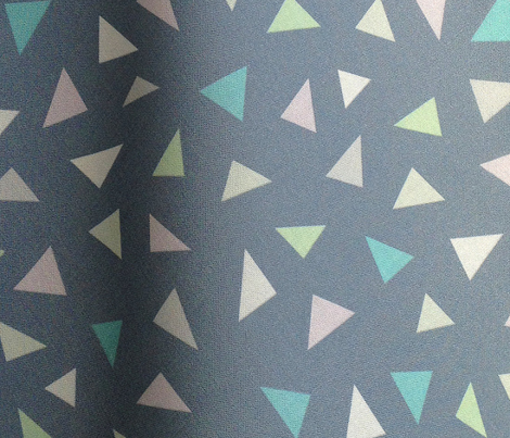 Triangle Confetti Grey