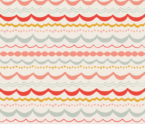 Summer Carnival  fabric by sparrowsong on Spoonflower - custom fabric