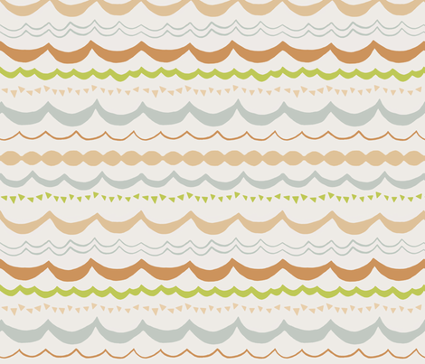 Sky and Grass Carnival  fabric by sparrowsong on Spoonflower - custom fabric