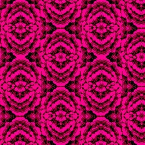 Pink marble batik rose flower