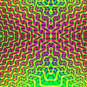 Fractal: Electrified Neon
