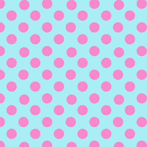 Birthday Polka Dots fabric by karenharveycox on Spoonflower - custom fabric