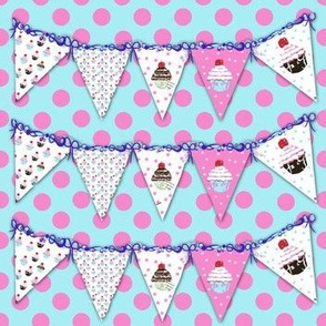Polka Dots and Bunting