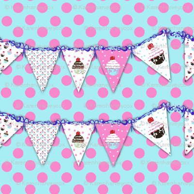 Polka Dots and Banners