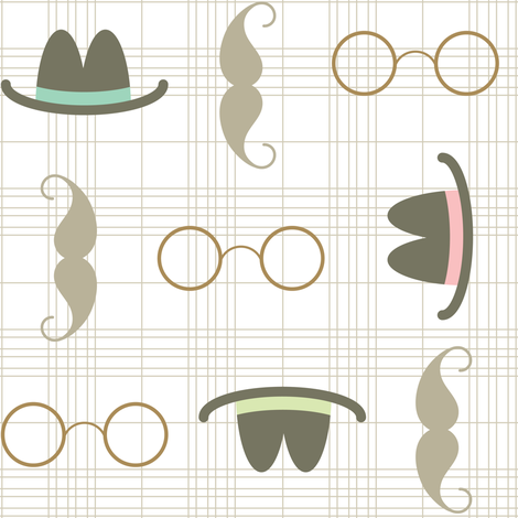 Fedora fabric by brandipowell on Spoonflower - custom fabric