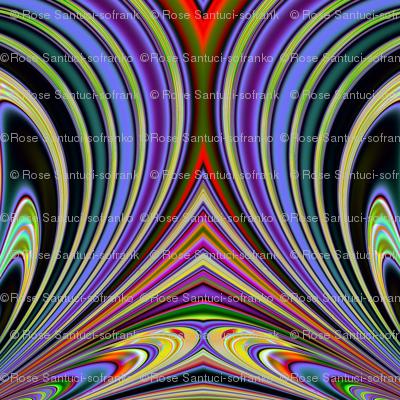 Fractal: Iris Garden