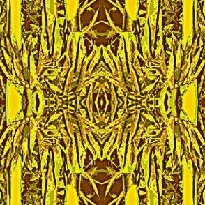 Bamboo Stalks-brown/gold