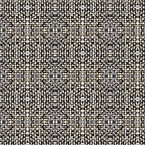 Winsor Weave - brown, charcoal, white, silver fabric by materialsgirl on Spoonflower - custom fabric