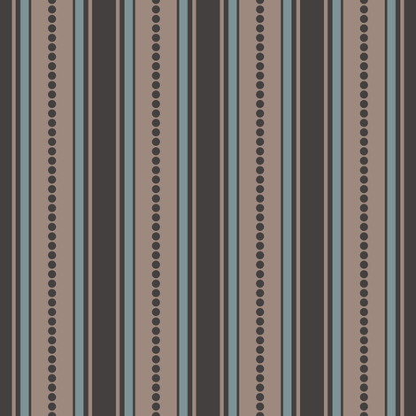 tan_multi_dot stripe fabric by alainasdesigns on Spoonflower - custom fabric