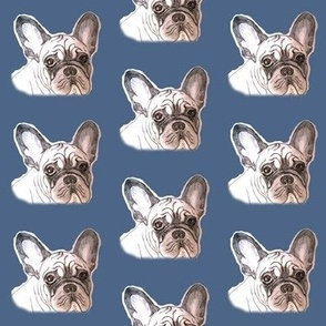 french bulldog blues