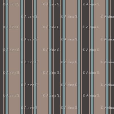 tan multi stripe