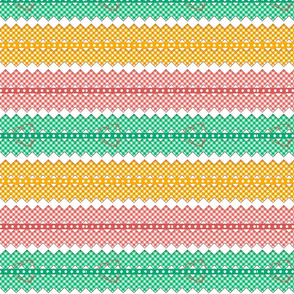 gingham_chevron_tricolor-hearts ribbons