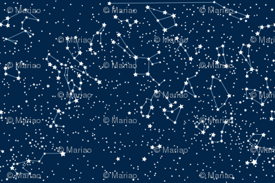 """""""Map"""" of our sky (large scale)"""