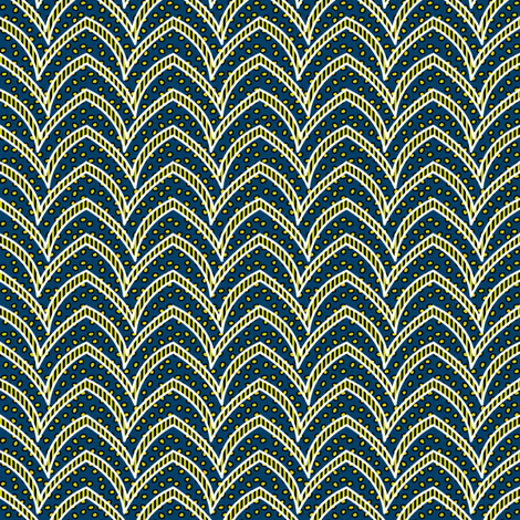 Firefly Flying Stripe fabric by glimmericks on Spoonflower - custom fabric