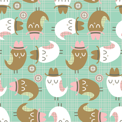 Big Hoot fabric by brandipowell on Spoonflower - custom fabric