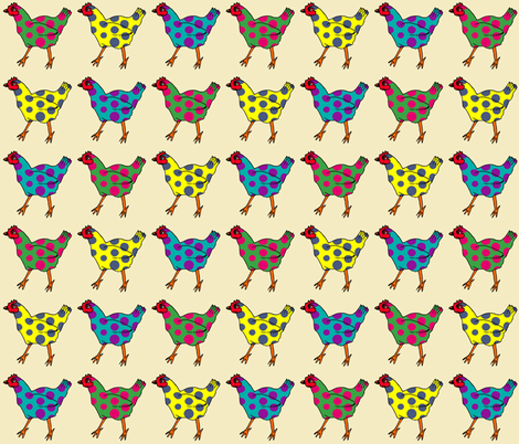 polka parade fabric by jaja on Spoonflower - custom fabric