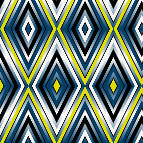 Firefly Diamonds Eclectic fabric by eclectic_house on Spoonflower - custom fabric