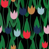 Tulips Noir