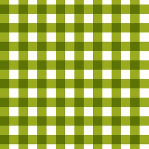 Green Gingham
