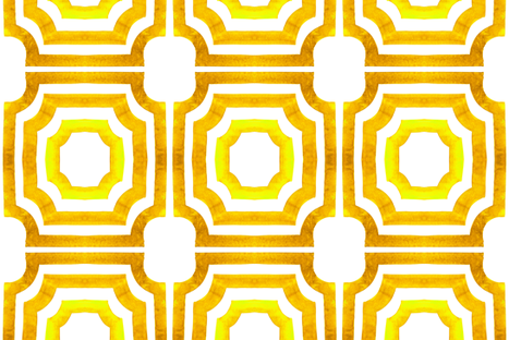 cestlaviv_lattice Sunny fabric by cest_la_viv on Spoonflower - custom fabric
