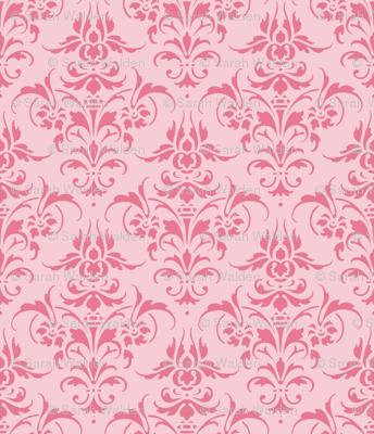 Pink Dawn ~ Pink Damask