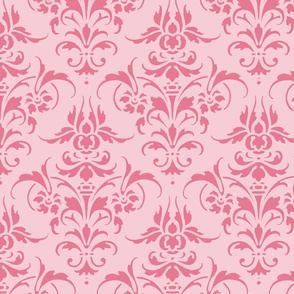 Pink Dawn ~ Pink Damask