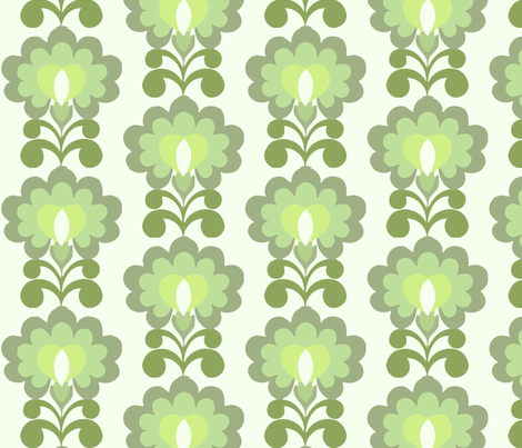 illuminate green fabric by myracle on Spoonflower - custom fabric