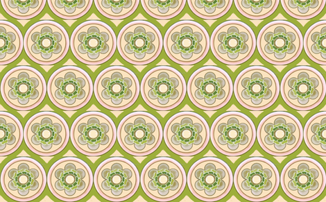 bold flowertile fabric by myracle on Spoonflower - custom fabric